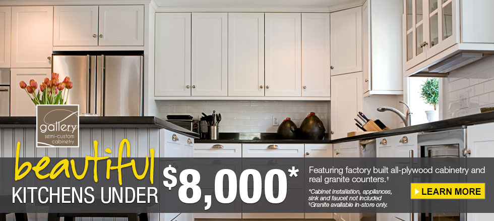 CLK Kitchens Under $8,000