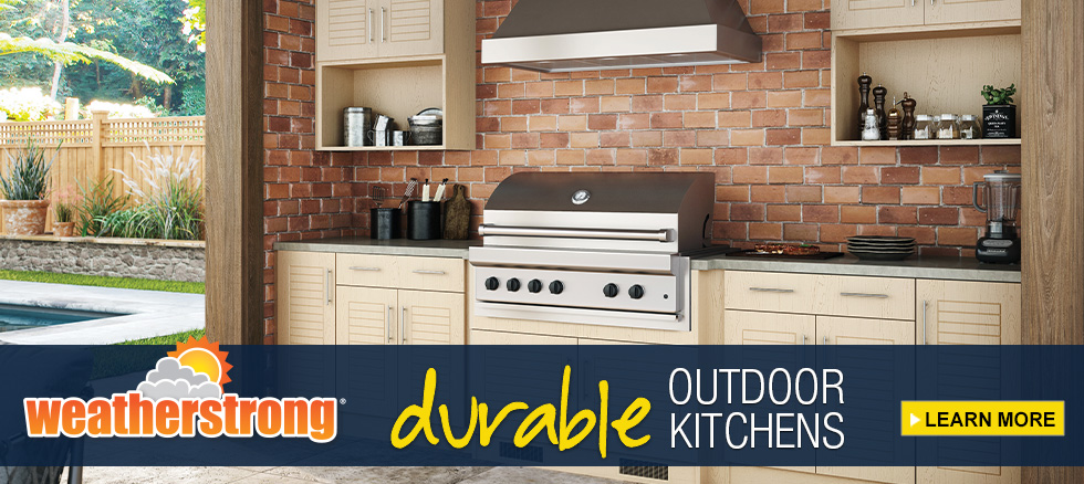 CLK New WeatherStrong Outdoor Cabinetry Style