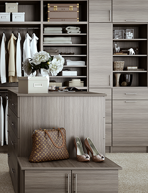 gallery closet cabinetry is a full line of true cabinets for that builtin look without the cost of custom cabinets these cabinets are made from furniture