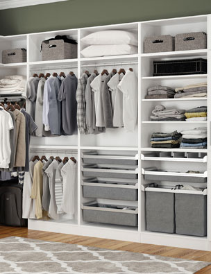 Gallery Cabinetry Closet Accessories and Hardware