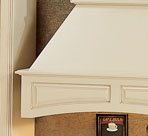 Range Hood With Arched Valance