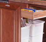 Pull-Out Wastebaskets