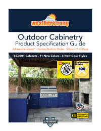 WeatherStrong Outdoor Specification Guide