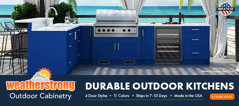 CLK WeatherStrong Outdoor Cabinetry Style