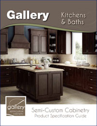 Gallery Kitchen and Bathroom Product Specification Guide