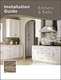 Gallery Kitchen and Bathroom Installation Manual
