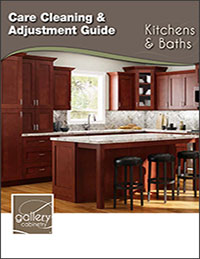 Gallery Kitchen and Bathroom Cleaning and Adjustment Guide