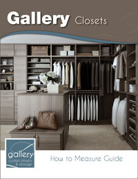 Gallery Closet How to Measure Guide