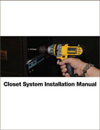 Gallery Closet Installation Manual