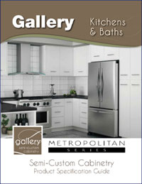 Gallery Kitchen and Bathroom Metropolitan Product Specification Guide